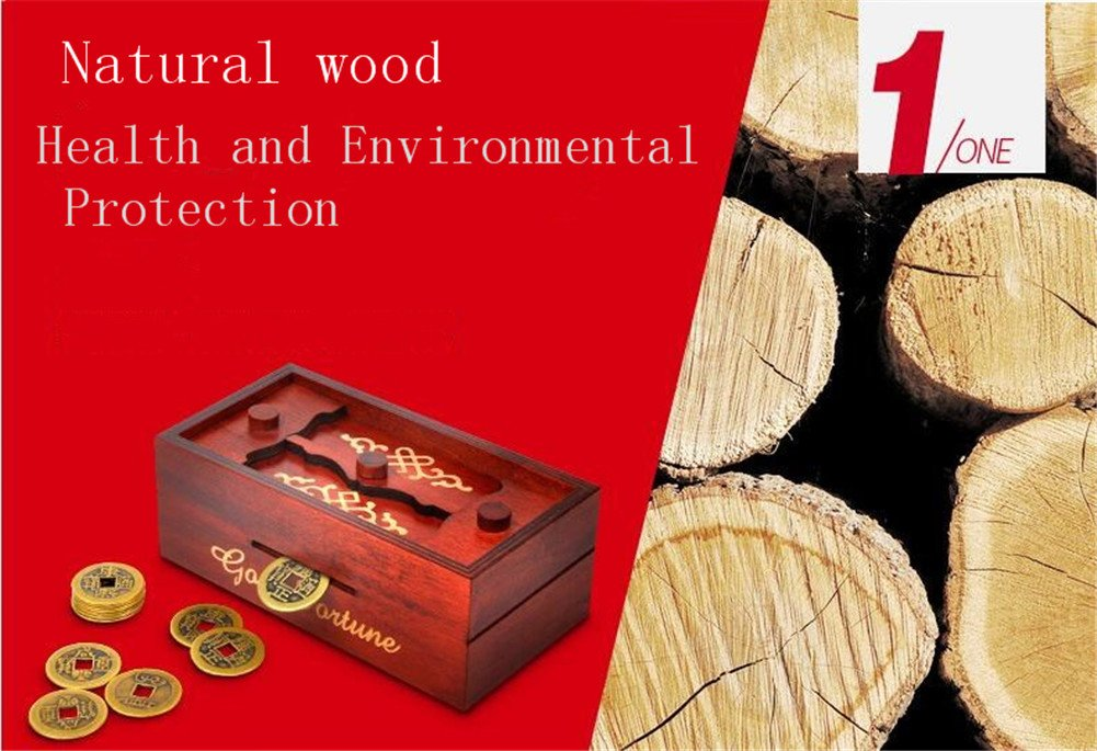 Magic Box Wooden Puzzle Box Special Unique Gift Box by ONE ADD ONE (Image #3)
