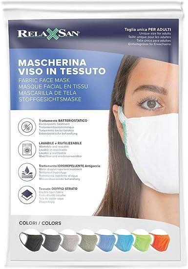 Lips Love. SH M188 Masque de bouche et de nez en coton 2 couches avec 10 filtres 3 couches lavables /à 60 /°C