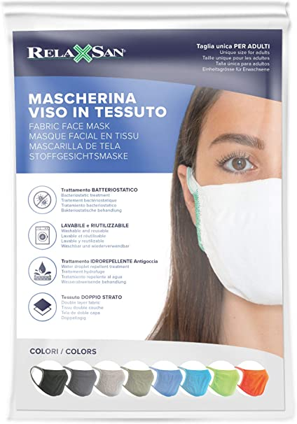 SH M188 Masque de bouche et de nez en coton 2 couches avec 10 filtres 3 couches lavables /à 60 /°C c/œur