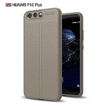 Huawei P10 Plus Funda y Carcasa Ultra Slim Elegante Cuero ...