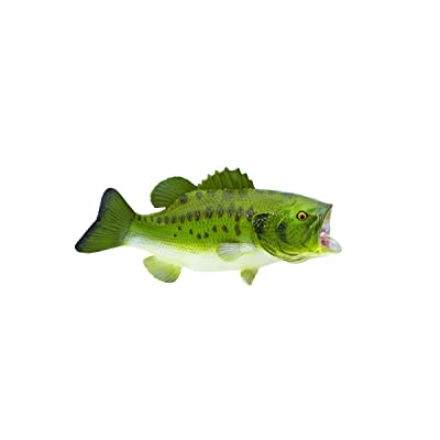 Safari S265629 Large Mouth Bass,Green: Toys & Games