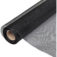 vidaXL Gaas 100x1000 cm glasvezel zwart