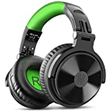 OneOdio Gaming Headsets, Over Ear Headphones, Wired Stereo Sound Gaming Chat Headphones, 50mm Driver, Soft Earmuffs for PS4, Xbox, Cell Phone, PC (Color: Green)