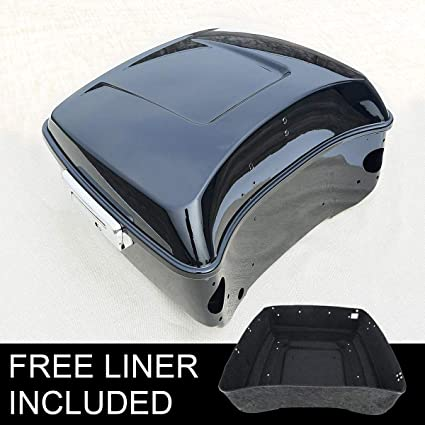 Automobiles & Motorcycles Covers & Ornamental Mouldings King Tour Pak Pack Trunk For Harley Touring Road King Electra Street Glide Flt Flht Flhx Flt Flht Flhrc 2014-2018 Moderate Cost