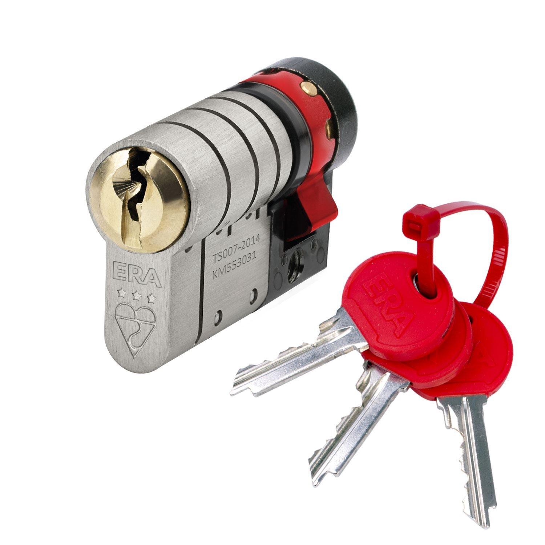 35//45 Mila BKS TS007 3 Star High Security Anti Snap Euro Cylinder Lock