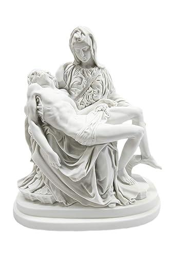 Vittoria Collection 13 La Pieta Michelangelo Mary Jesus Catholic Statue Sculpture Figurine Made in Italy