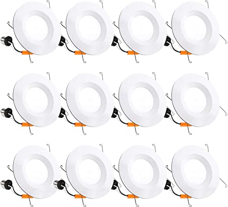 Equivalent to 100 W Round Ceiling Light Slim Recessed 20 cm FactorLED Pack of 5 Circular LED Plate 20 W Extra Flat LED Downlight Cool White 2000 Lm Indoor Lighting 120