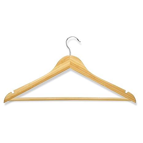 Amazon.com: Honey-Can-Do hng-01530 Suit Colgador de bambú, 4 ...