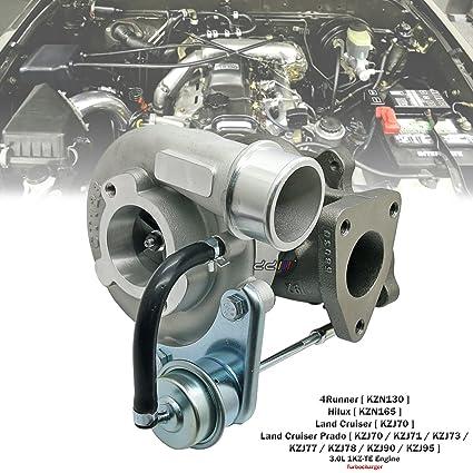 Amazon.com: Turbo Charger CT12B 17201-67010 For Toyota Land Cruiser Hilux Surf Prado 1KZ-TE: Automotive
