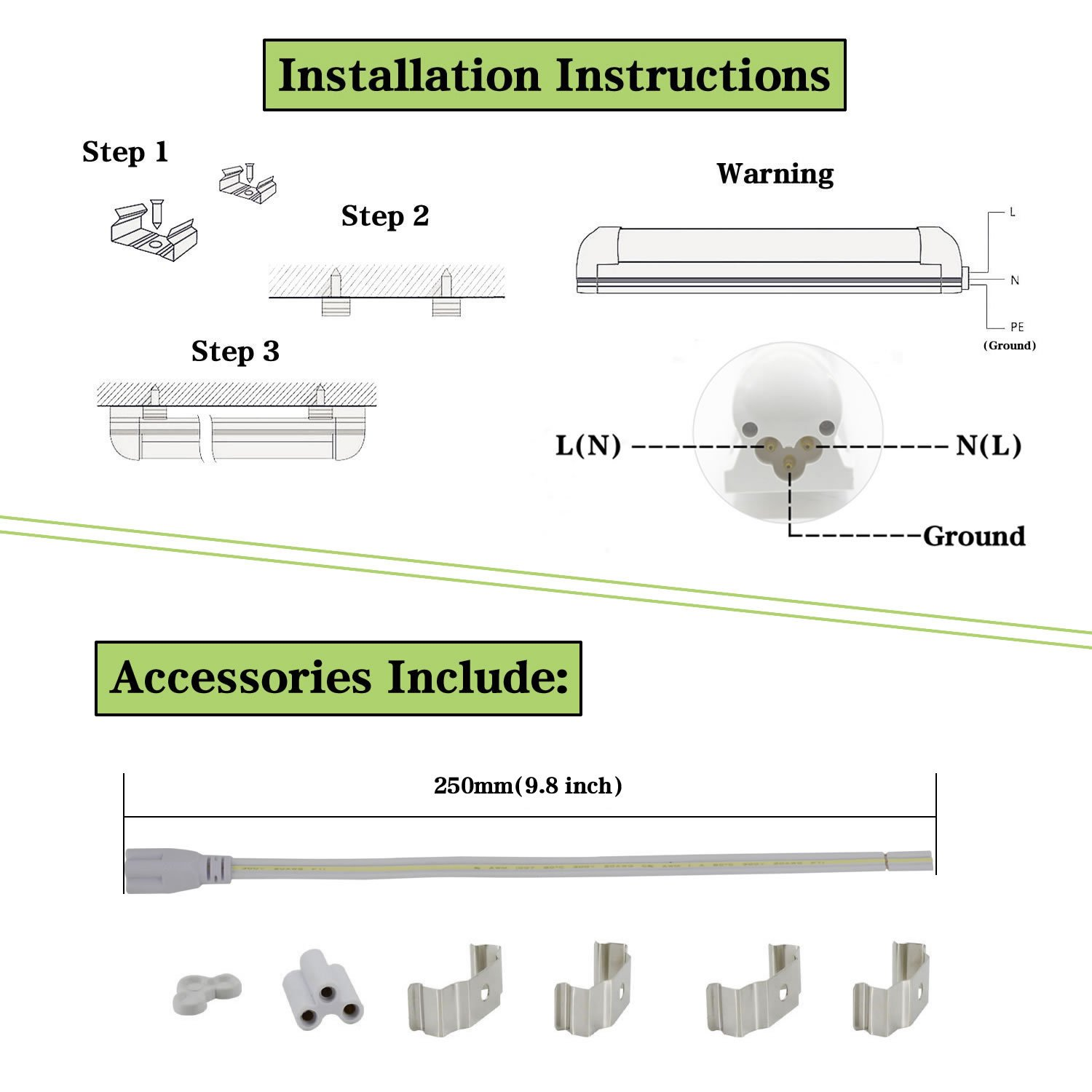 8ft Led Tube Light 72w 6000k 8 Foot Bulbs V Shape Integrated 3x3 Super Set Circuit Workout Working It Out Pinterest Cooler Door Double Row Fixtures Clear Lens 4 Pack