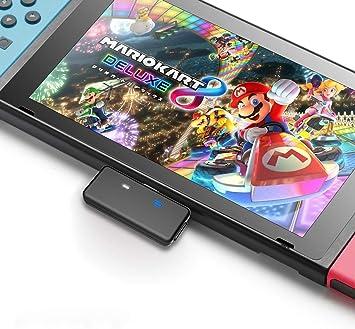 Nintendo Switch Bluetooth Adapter Accessories, Wireless Audio Bluetooth 5.0 Receiver Transmitter USB-C Dongle for Nintendo Switch, Switch Lite: Amazon.es: Electrónica