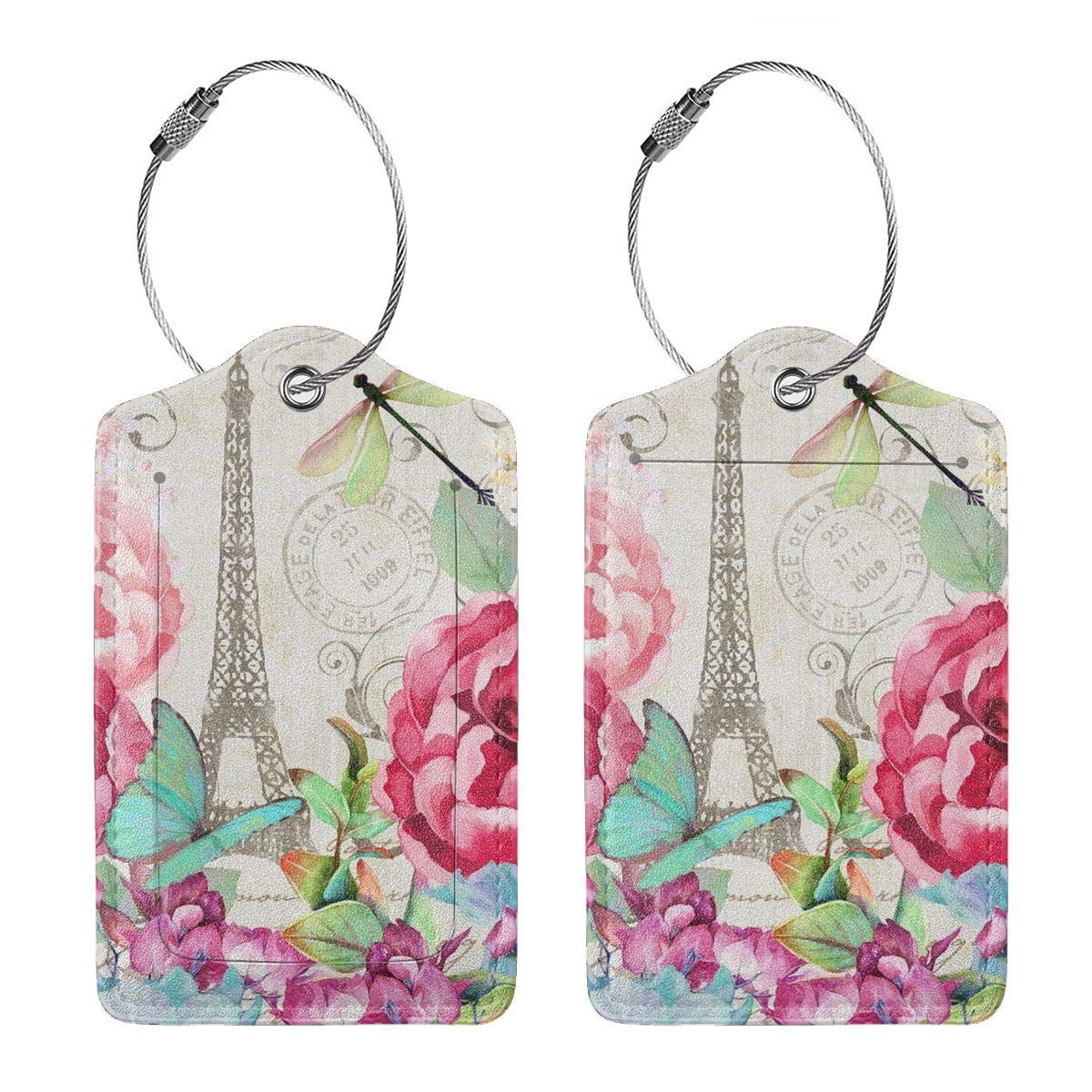Paris Tower Eiffel And Bicycle Romantic Postcard Reverse Umbrella Double Layer Inverted Umbrellas For Car Rain Outdoor With C-Shaped Handle Personalized