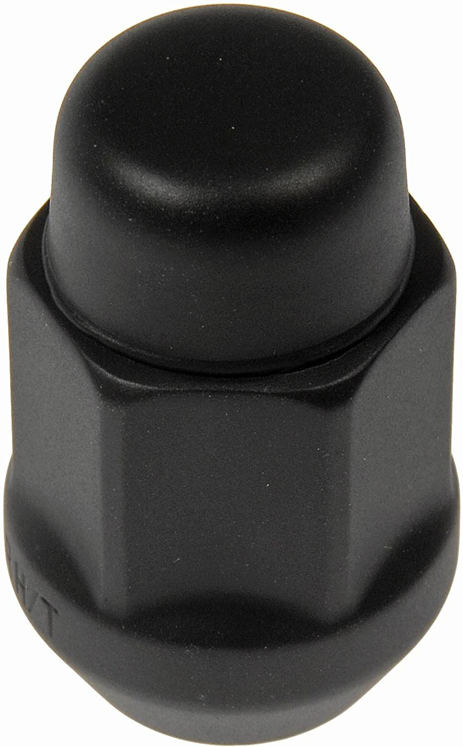 Dorman 711-335C Pack of 16 Matte Black Wheel Nuts and 4 Lock Nuts with Key