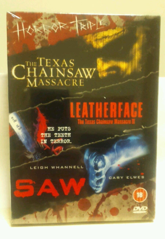 Texas Chainsaw Massacre/...... [Reino Unido] [DVD]: Amazon.es
