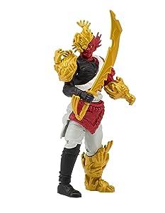 Power Rangers Super Ninja Steel Action Figure, Villain Mangetsu