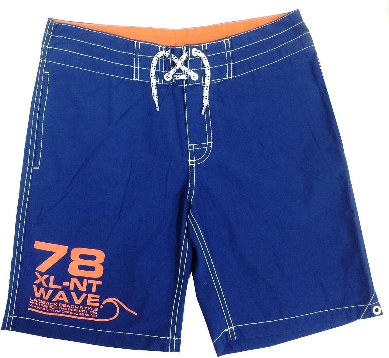 Integriti Schoolwear Boys Kids EX H/&M Blue /& Orange Drawstring Swim Shorts Beach Surf 2-14 Years