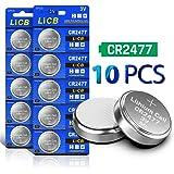 LiCB CR2477 3V Lithium Battery (Pack of 10)