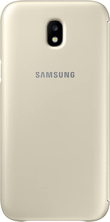 SAMSUNG Dual Layer Cover - Carcasa Galaxy J5 2017, Color Dorado ...