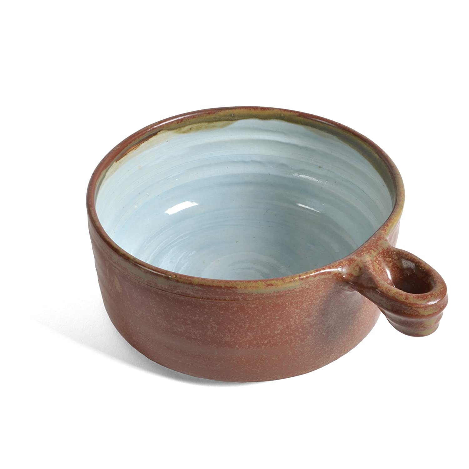 Robins Nest Robin/'s Nest QUESO-RN Holman Pottery Queso Baking Dish with Handle