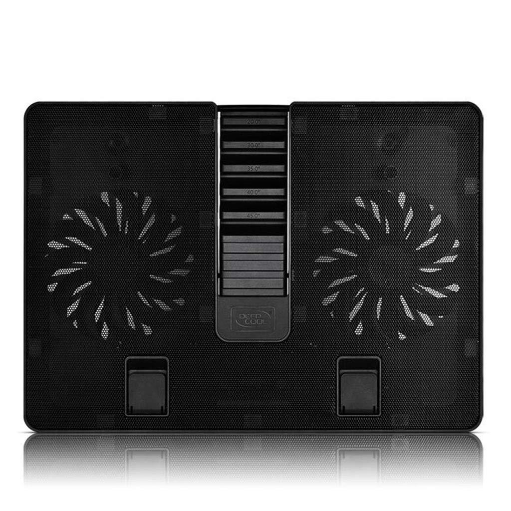 Notebook Cooler 15.6-inch Laptop Cooling Base Exhaust Fan Bracket Board Pad Silent Fan Heater