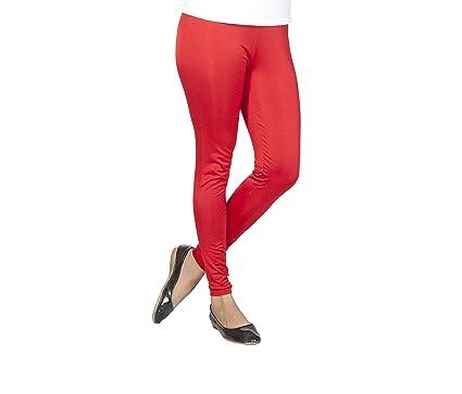 b62deda0c1e067 Clifton Women's Premium Shimmer Ankle Length Legging - Crimson Red ...