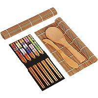 BESTONZON 15pcs kit de sushi de bambú que