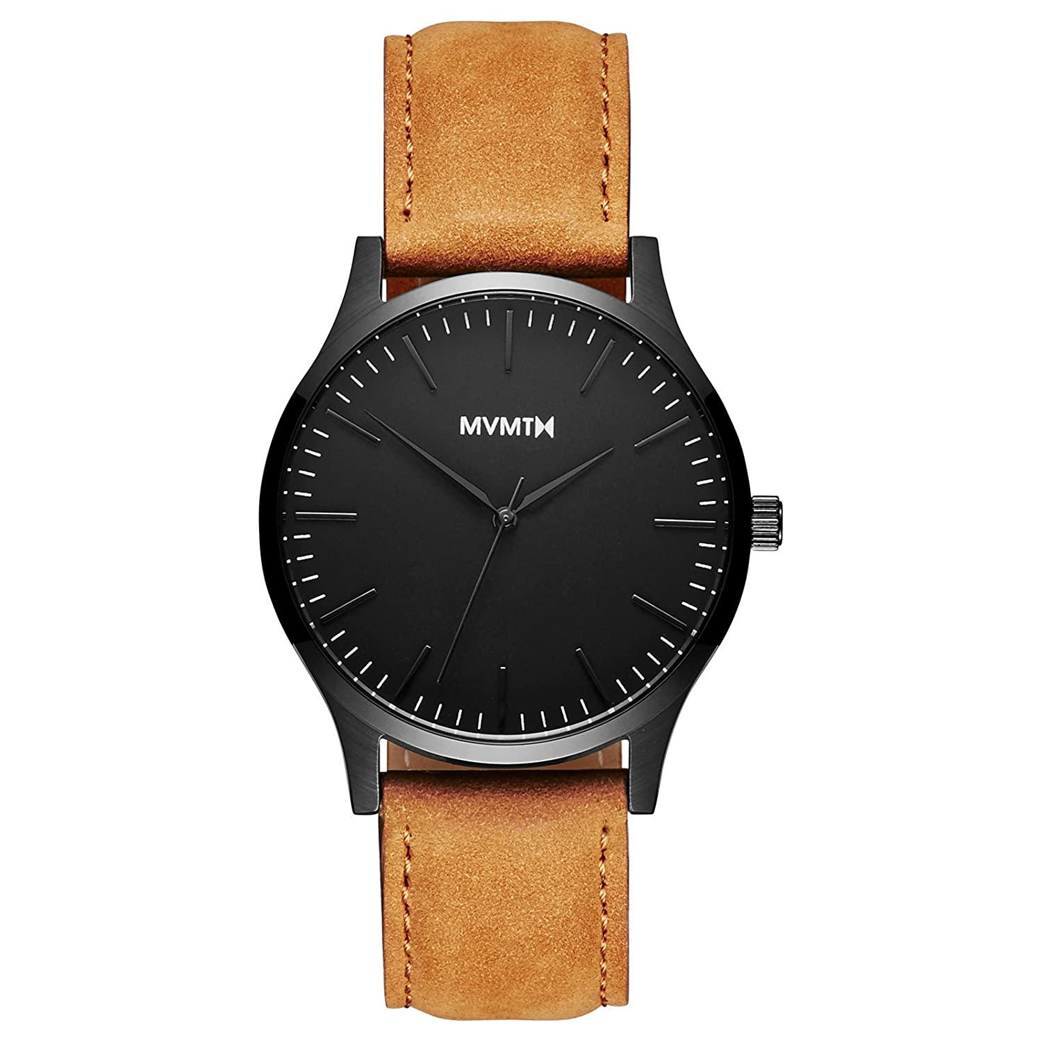 MVMT Watch Herren 40 Series Black-Tan Leather MT01-BLT