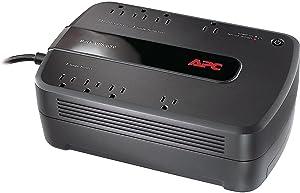 APC BE650G1 BE650G1 Back-UPS ES 650 Battery Backup System, 8 Outlets, 650VA, 365 J