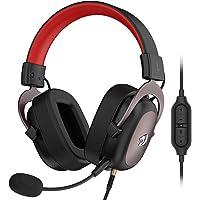 Redragon H510 Zeus Fone de ouvido para jogos – Som surround 7.1 – Almofadas de espuma de memória – Drivers de 53 mm…