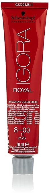 Oferta amazon: Schwarzkopf Professional Igora Royal 8-00 Tinte - 60 ml