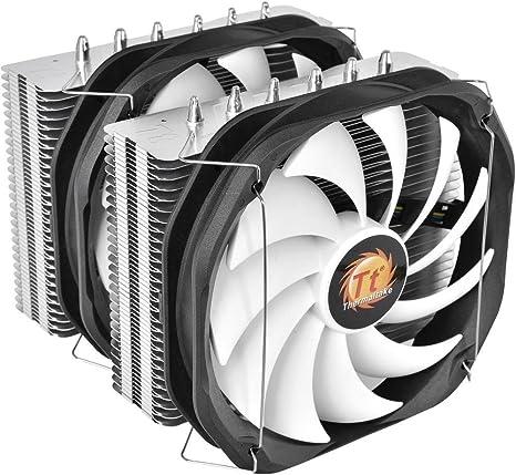 Thermaltake Frio Extreme Silent 14 Dual - Ventilador para PC, Color Negro y metálico: Amazon.es: Informática
