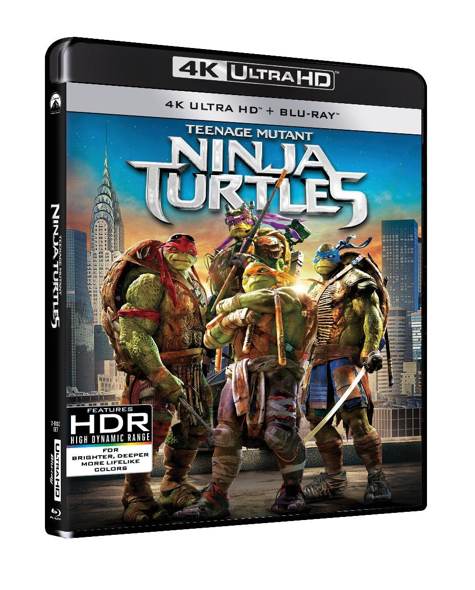 Teenage Mutant Ninja Turtles 2014 4K 2 Blu-ray Edizione ...