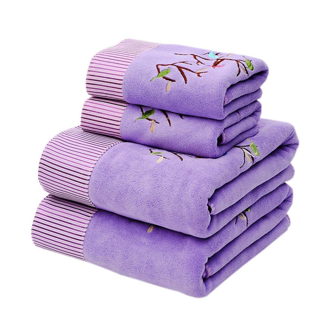 11,35 * 75 + 70 * 140 1 Asciugamano Da Bagno 1 Set Di Asciugamani Asciugamano Grande Assorbente In Cartone Animato In Microfibra Con Ricami In Pizzo