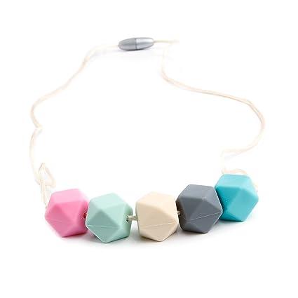 Consider It Maid - Collar de silicona para dentición para ...