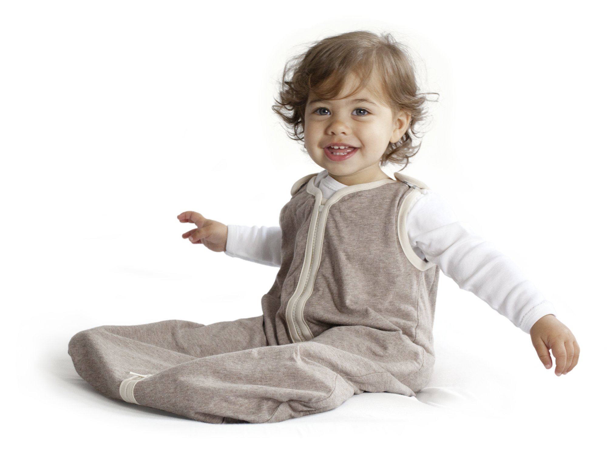 baby deedee Sleep Nest Lite, Sleeping Bag Sack - Mocha Heather, L (18-36 Months) by baby deedee