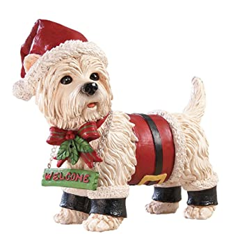 Amazon.com: Motion Sensor Pet Christmas Yard Decoration, Dog ...