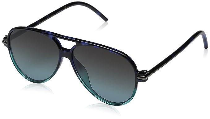 Marc Jacobs Marc 44/S I7 TML 56 Gafas de sol, Azul ...