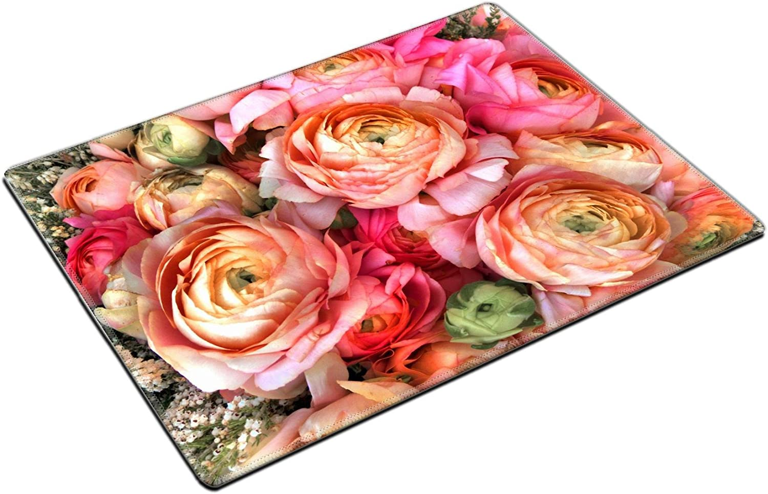 MSD Natural Rubber Gaming Mousepad Bouquet of pink peony Floral pattern Image ID 23898219
