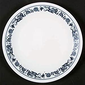 Corelle Blue Onion Luncheon Plate, 8-1/2 inch Old Town Luncheon Plate