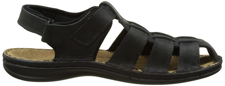 Mens Barrow H8 Sling Back Sandals, Black TBS