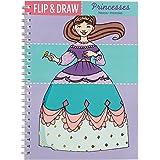 Mudpuppy Princesses Flip and Draw