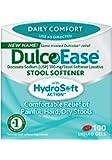 DulcoEase Stool Softener Liquid Gels, 100 Count