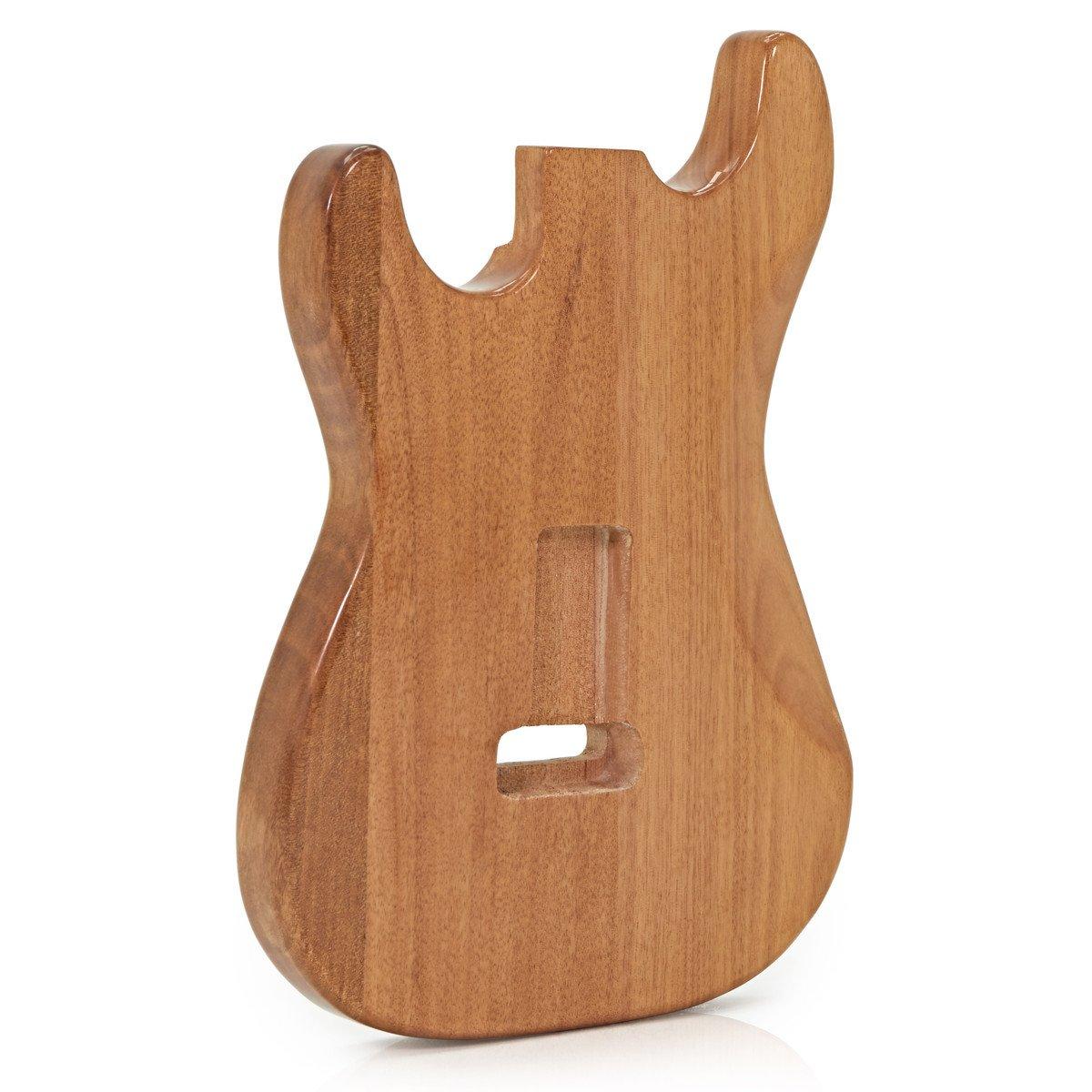 Cuerpo de Guitarra Eléctrica Caoba Natural