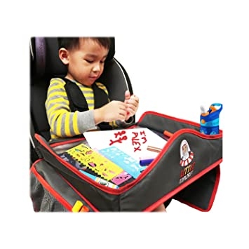 Amazon.com: Kids Waterproof Travel Tray with Erasable surface ...