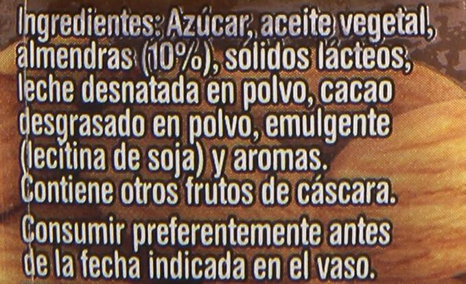 Nocilla Almendras Crema de Cacao - 190 g: Amazon.es ...