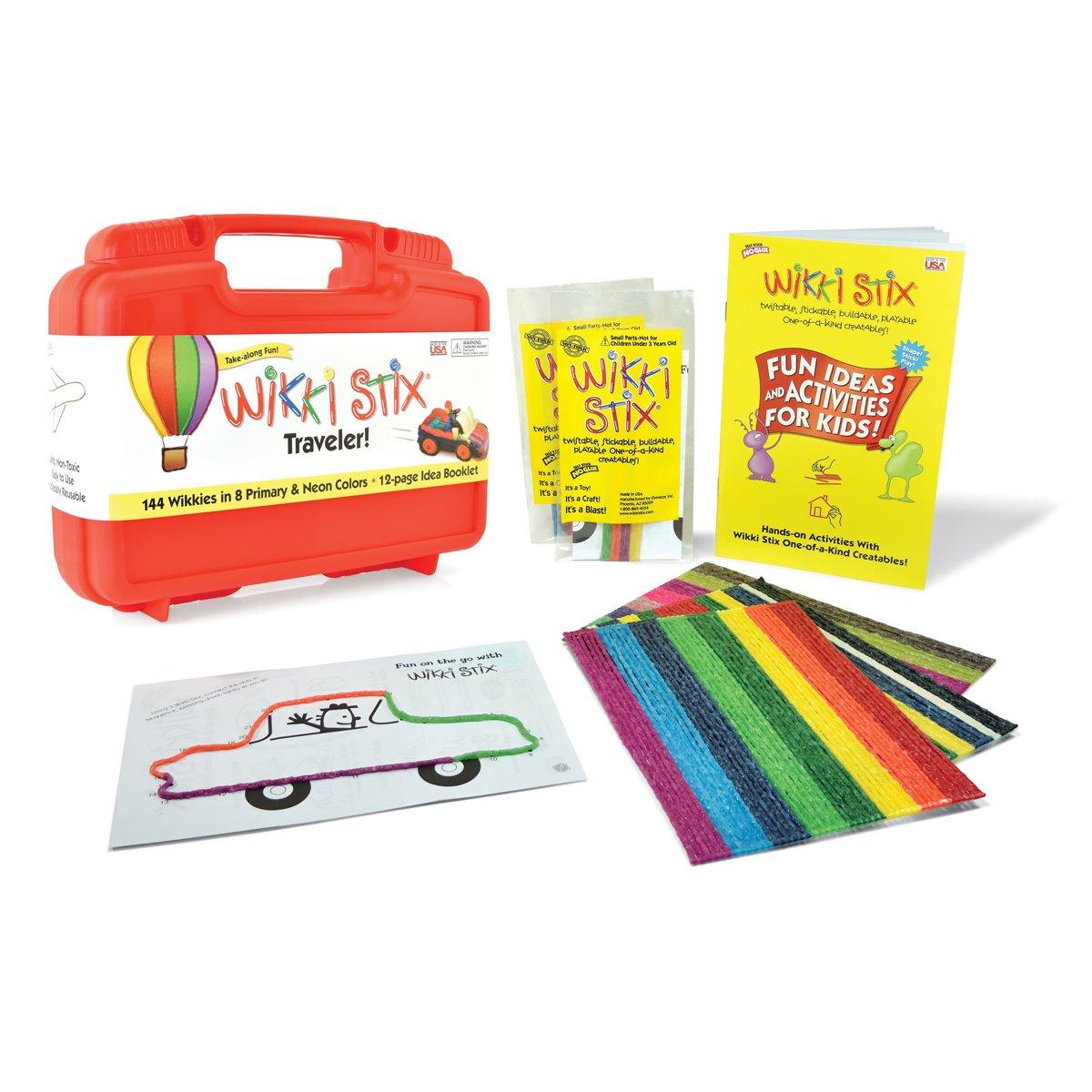 WikkiStix Traveler Playset Craft Kit Molding & Sculpting Sticks by WikkiStix (Image #2)