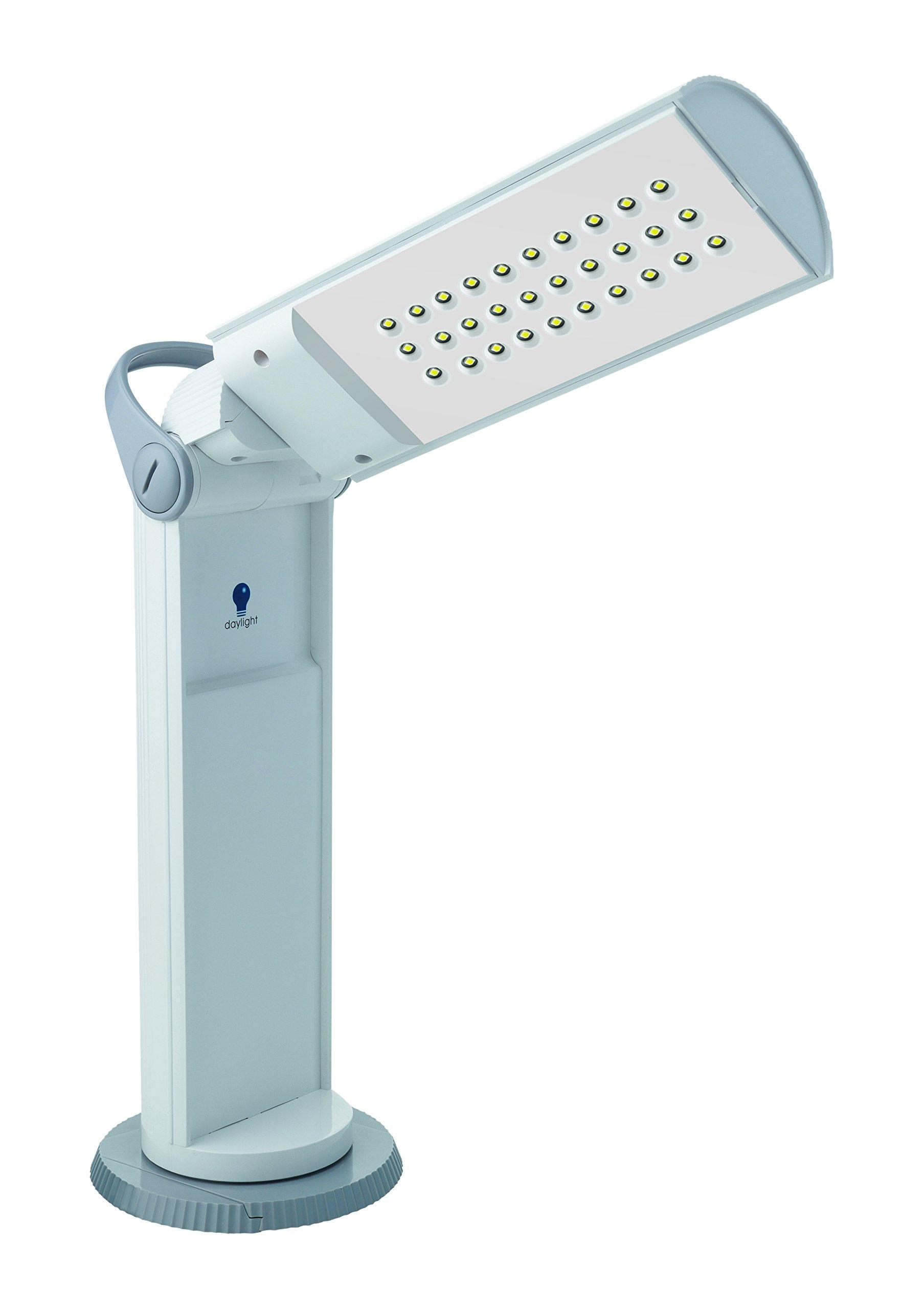 Daylight Company U35700 Twist Portable LED Lamp, White