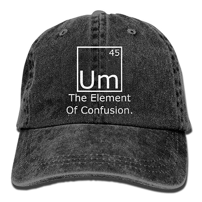 Gorra de béisbol Unisex Sombrero de Mezclilla teñido con Hilo Um ...