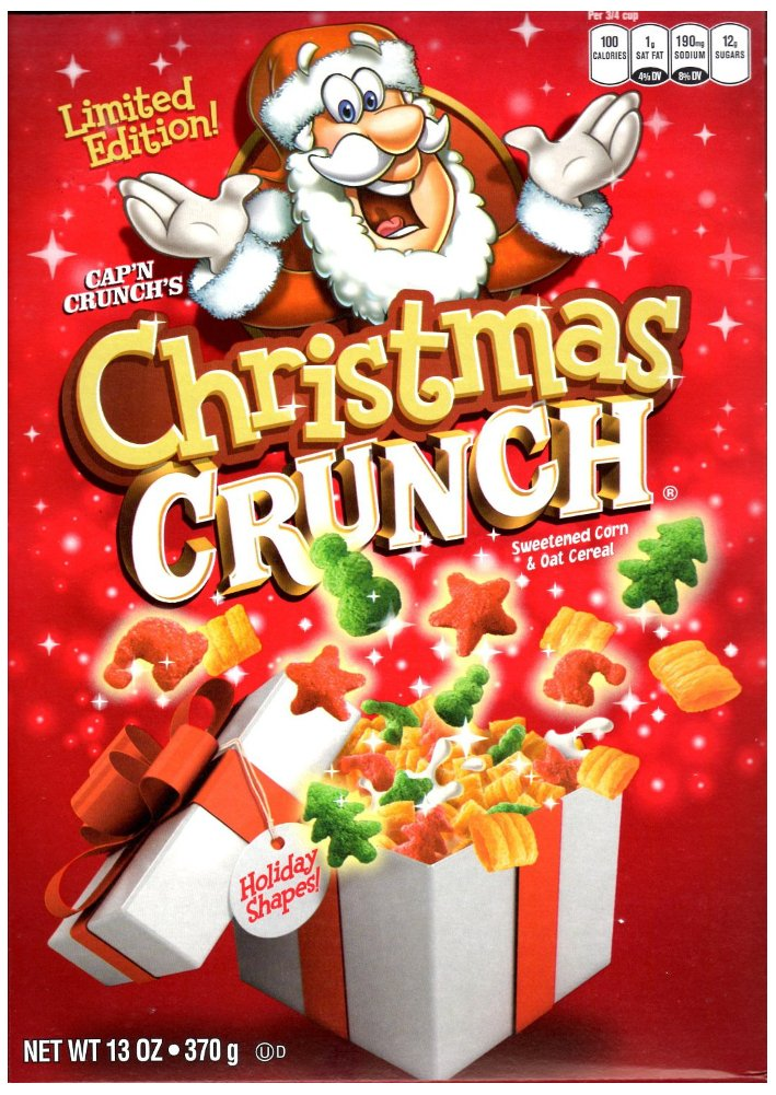 amazoncom capn crunchs christmas crunch cereal limited edition one 13 oz box cold breakfast cereals - Captain Crunch Halloween