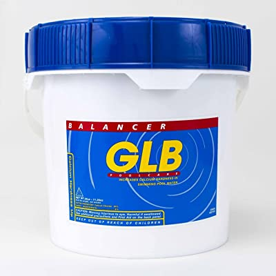 GLB Pool & Spa Products 71214 25-Pound Calcium Hardness Up Pool Water Balancer : Swimming Pool Ph Balancers : Garden & Outdoor